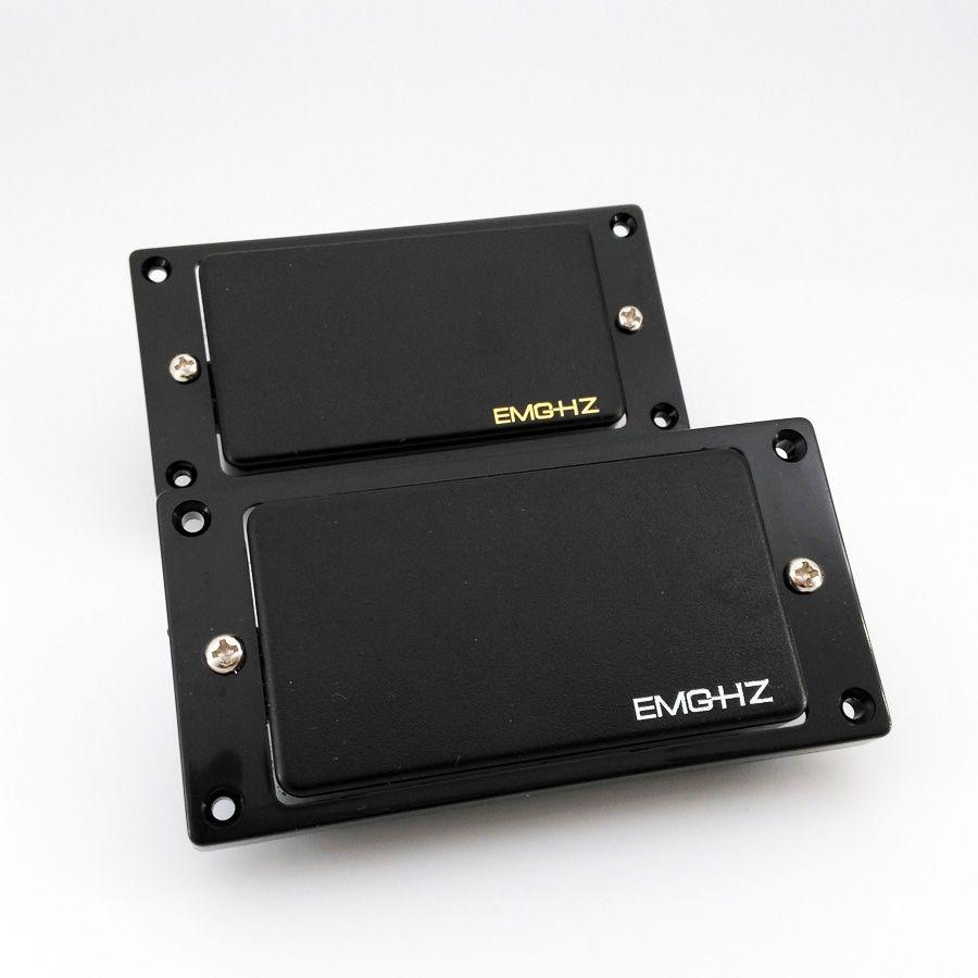 EMG Hz 패시브 팩 4 케이블 전기 기타 목과 다리 픽업