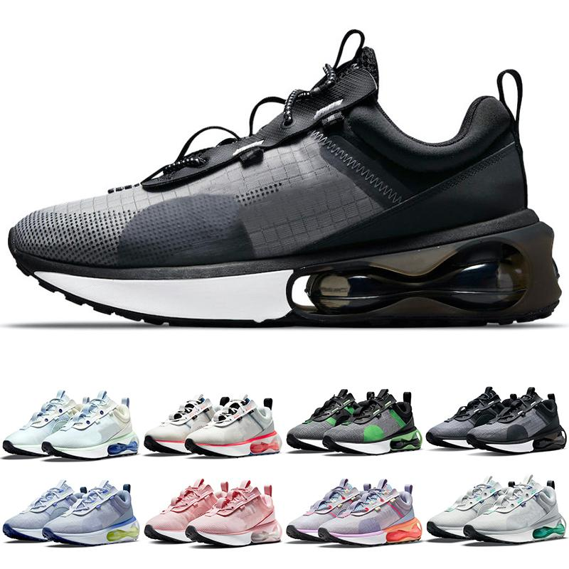 2021 TN الرجال النساء الاحذية أسود أبيض بالكاد الأخضر البحرية قرمزي سبج البندقية رمادي رمادي تيل رجل المدربين النسائية الرياضية أحذية رياضية الحجم 5.5-11