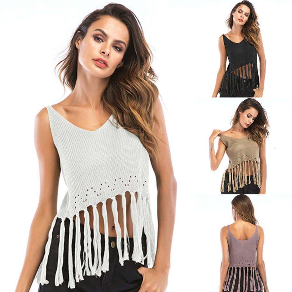 Kleid zwei kurze stück und vielseitige quaste haken blume offen zurück hohl gestrickter suspender vt für frauen sommer