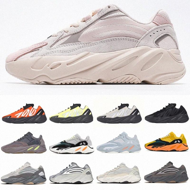 yeezy yeezys yezzy yezzys adidas 700 Kanye West V2 Reflective Men Wave Runner Sport Running Zapatos Fosfor V1 MNVN Sun Hueso Naranja Carbono V3 Zapatillas de deporte Entrenadores