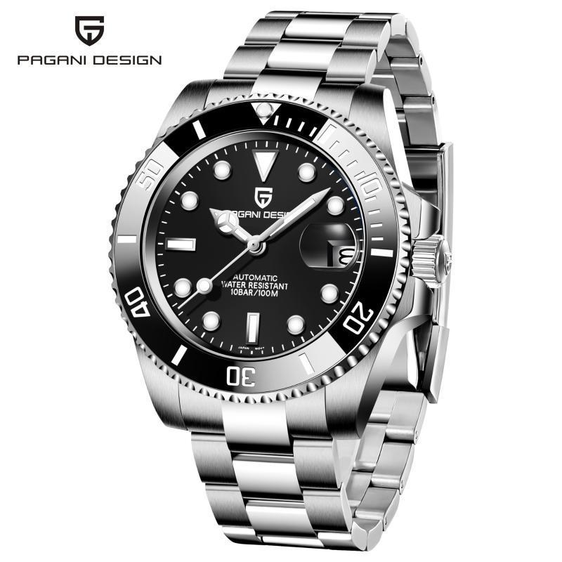 [Small Wholesale]Bogani Pagani Design Men's Automatic Mechanical Watch Business Pd1661 Wristwatches