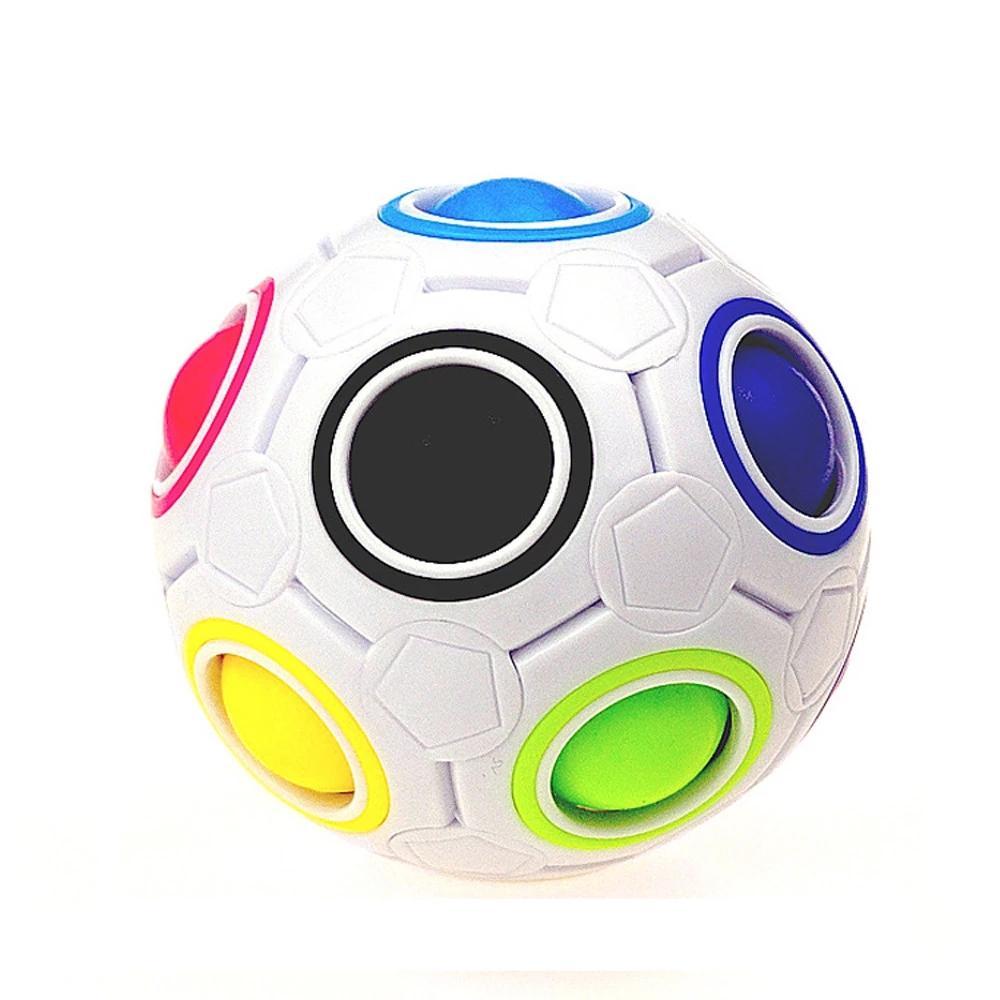 Fidget Toys Striever Rainbow Rainbow Magic Ball Puzzle Puzzle Juguetes Squeeze para niños Zabawki Andysresowe