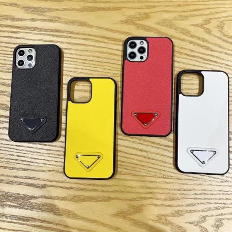 Casi del telefono della moda per iPhone 12 Mini 11 Pro Max XS XR x 8 7 Plus Designer di alta qualità Custodia davvero rivestita copertura del cellphone