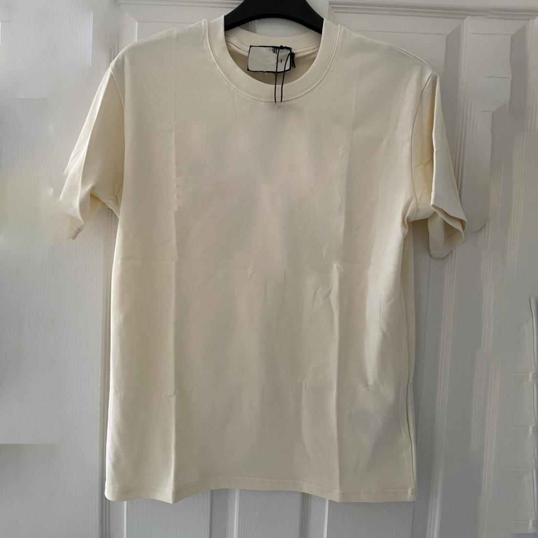 남성 T 셔츠 여름 패션 인과 문자 동물 인쇄 커플 이탈리아 스타일 클래식 캐주얼 짧은 소매 아시아 크기