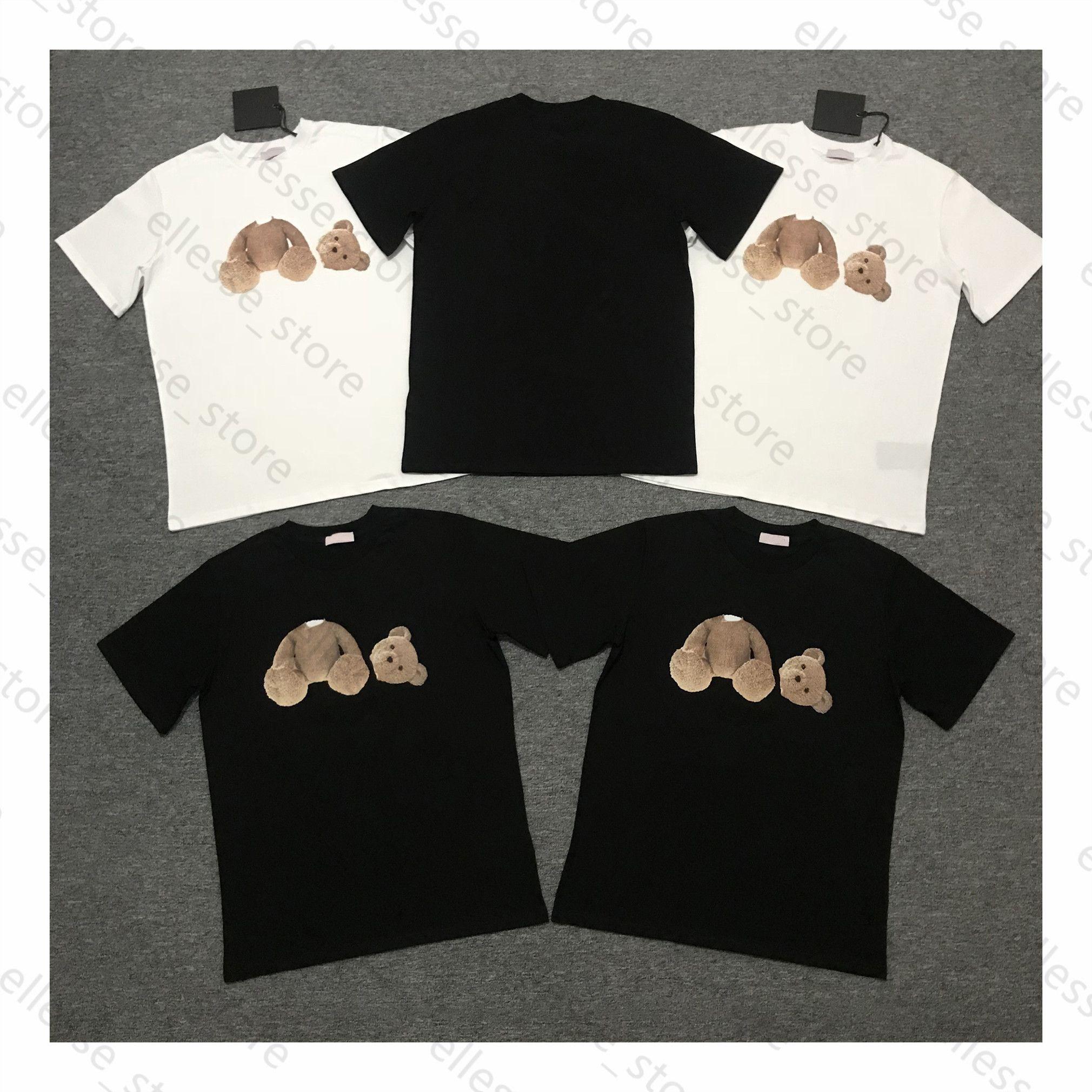 2021 الصيف أزياء رجالي المرأة مصممي القمصان للرجال s النخيل قمم إضافات التطريز بلايز الملابس قصيرة الملائكة الأكمام الزى المحملات