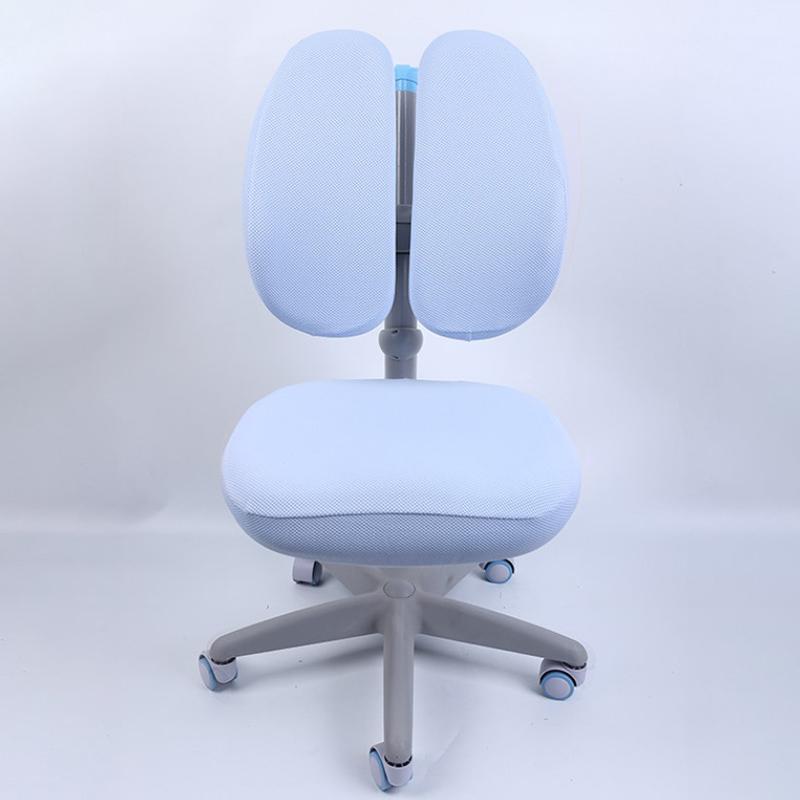 Cubierta de silla de estudio para niños Asiento a prueba de polvo para niños Protector de ojos Elevador giratorio para ajustar sin cubiertas