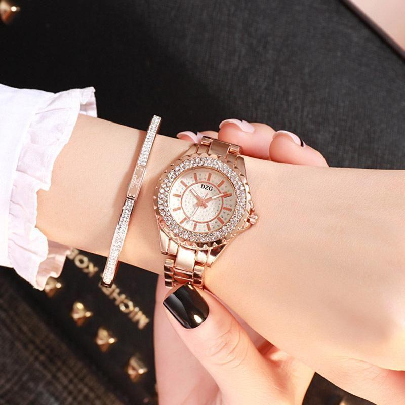 Geneva designer mulheres strass relógios senhora vestido relógio diamante luxo relógio de pulso senhoras cristal relógio relógio de relógio de relógio de relógio de quartzo