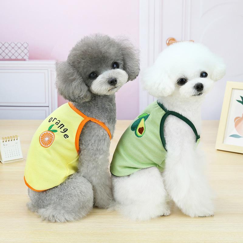 Sublimación Reflector en blanco Nylon Chaleco para perros de mascotas Ropa de malla transpirable ajustable Camisa de moda creativa Camisa de verano TUXEDO PET DOG Suppli {Categoría} F0CQ