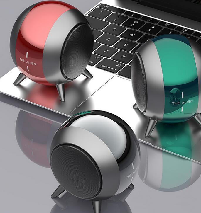 TWS Wireless Bluetooth Speakers Waterproof Level Outdoor Portable Speaker Shockproof Dustproof Mini Metal Bluetooths Receiver
