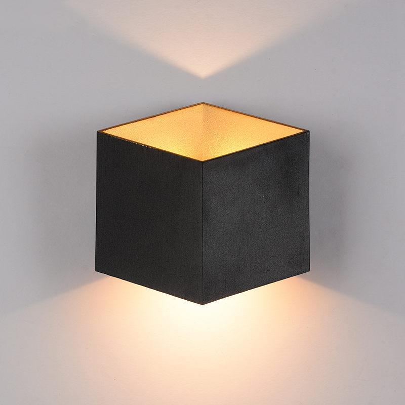 북유럽 LED 벽 램프 알루미늄 방수 야외 조명 현관 / / 정원 / 욕실 빛 조명기 램프