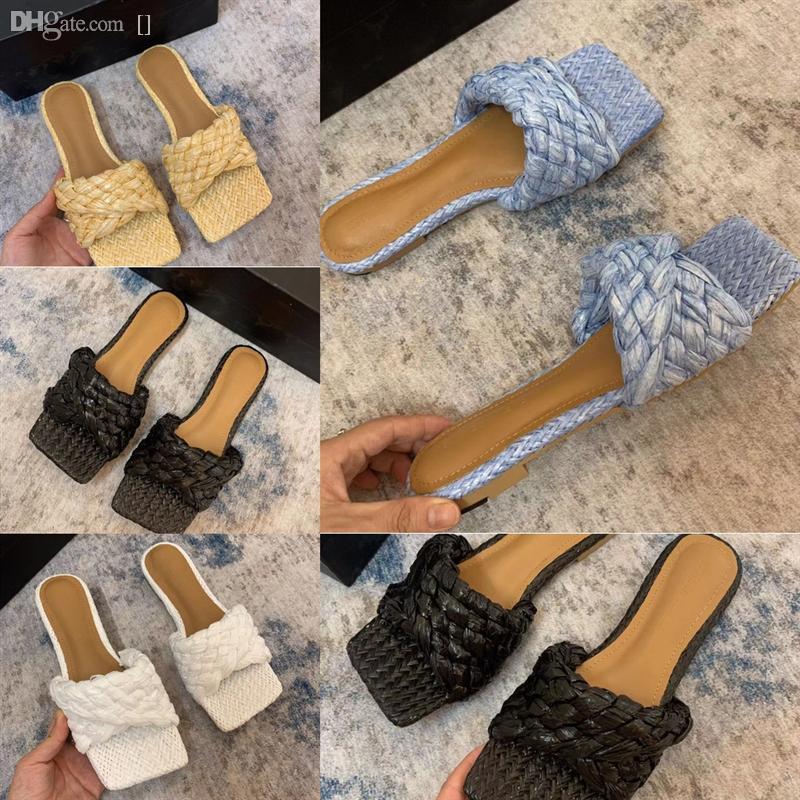 TY5PU Klasikleri Moda Kadınlar Gerçek Terlik Lüks Sandalet Slaytlar Terlik Terlik Seksi Tasarımcı LeatherFlats Ayakkabı Bayanlar Plaj