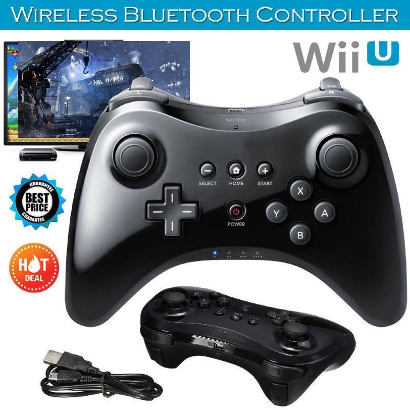 Game Controller Joysticks Classic Gamepad Bluetooth Telecomando senza fili Dual Analog Joystick da gioco USB per Wii U Pro