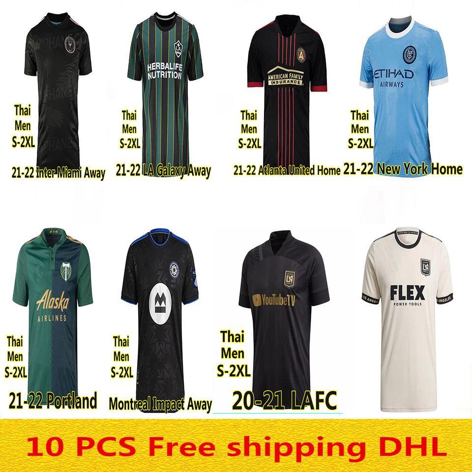 MLS 2021 2022 La Galaxy Inter Miami CF Футбол 22 22 Vela Chicharito Atlanta LAFC United Nashville Minnesota Angeles Футбольные рубашки