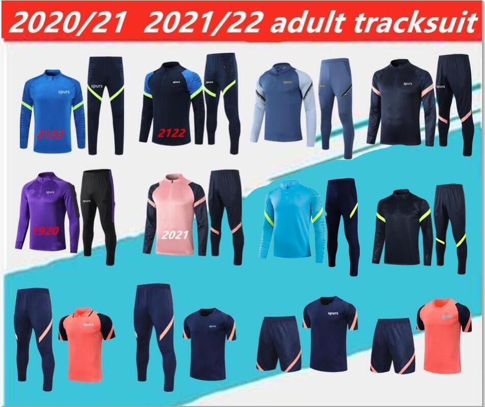 2021/2022 Spurs Adulto Tracksuit del Chandal 1920 2021 Celso Ndombele Camisa Polo Futebol Jaquetas Treinamento Terno Jogging.