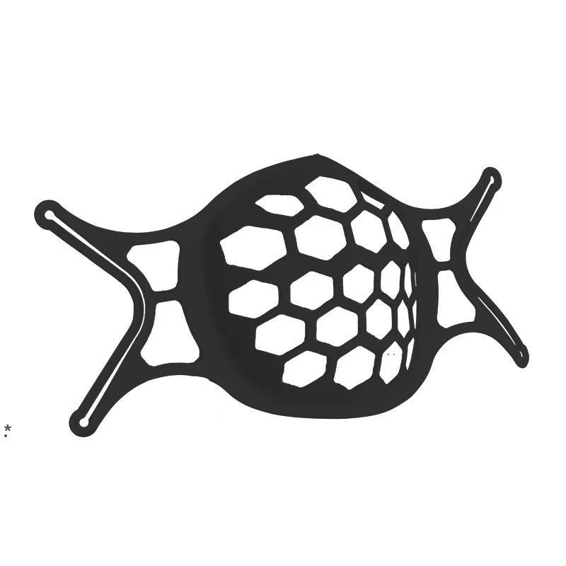 الأبيض الأسود قناع قناع حامل قوس حماية قناع دعم لتعزيز التنفس بسلاسة قناع حامل التبعي NHA4648