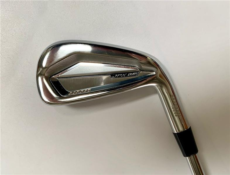 8pcs JPX921 Golf Clubs JPX921 Iron Set JPX921 Golf Forgiato Irons Golf club 5-9PGS R / S Flex Steel Shaft con coperchio della testa