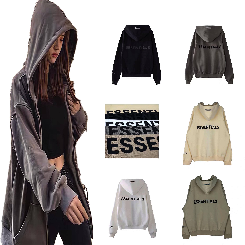 Мужчины мода теплые толстовки куртка мужские женские с капюшоном хип-хоп пары основы капюшонов свободная уличная одежда куртки мужские пуловер роскоши дизайнеры на молнии с длинным рукавом
