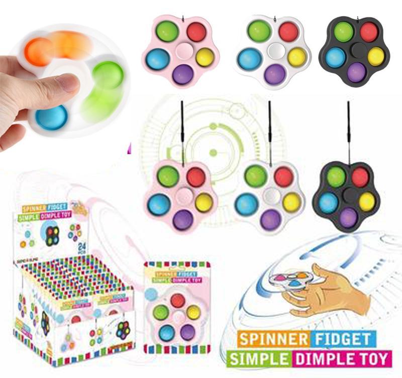 Custom Poit Phay Fidget Spinner игрушки Spinner Pop Push Flip вращающиеся игрушки