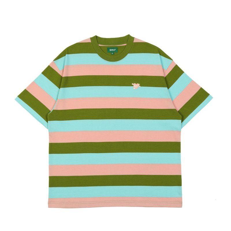 Camisetas para hombre Camisetas para hombre T Shirts Bimmer Tee 3 Color Stripes O-cuello algodón manga corta camiseta High Street Casual