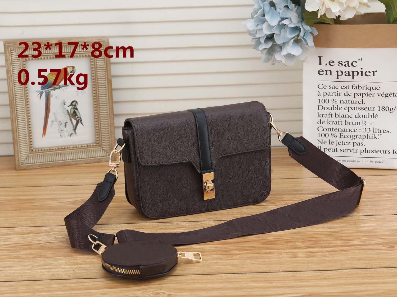 Мода женская сумка для продажи Высокое качество Натуральная кожа клевер классическая тиснение печатает сумочка Pochette плечо через плечо мешок сумки