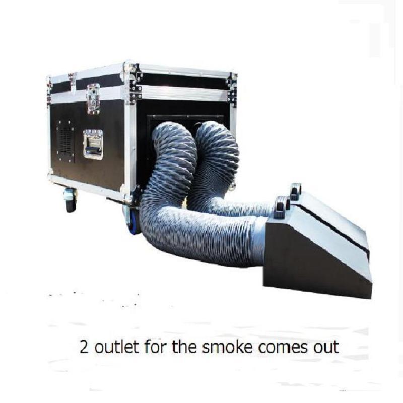 Efectos Equipo Etapa WaterBase Máquina de niebla 3000W DMX 512 Efecto Baja Mentira DJ DJ Hume Hume For Party
