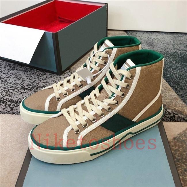 Vintage Sneaker Bordado Impresión Casual Shoe ACE Luxurys Designer Sneakers Italia Tenis 1977 CANVA Skate Shoes Deportes Entrenadores