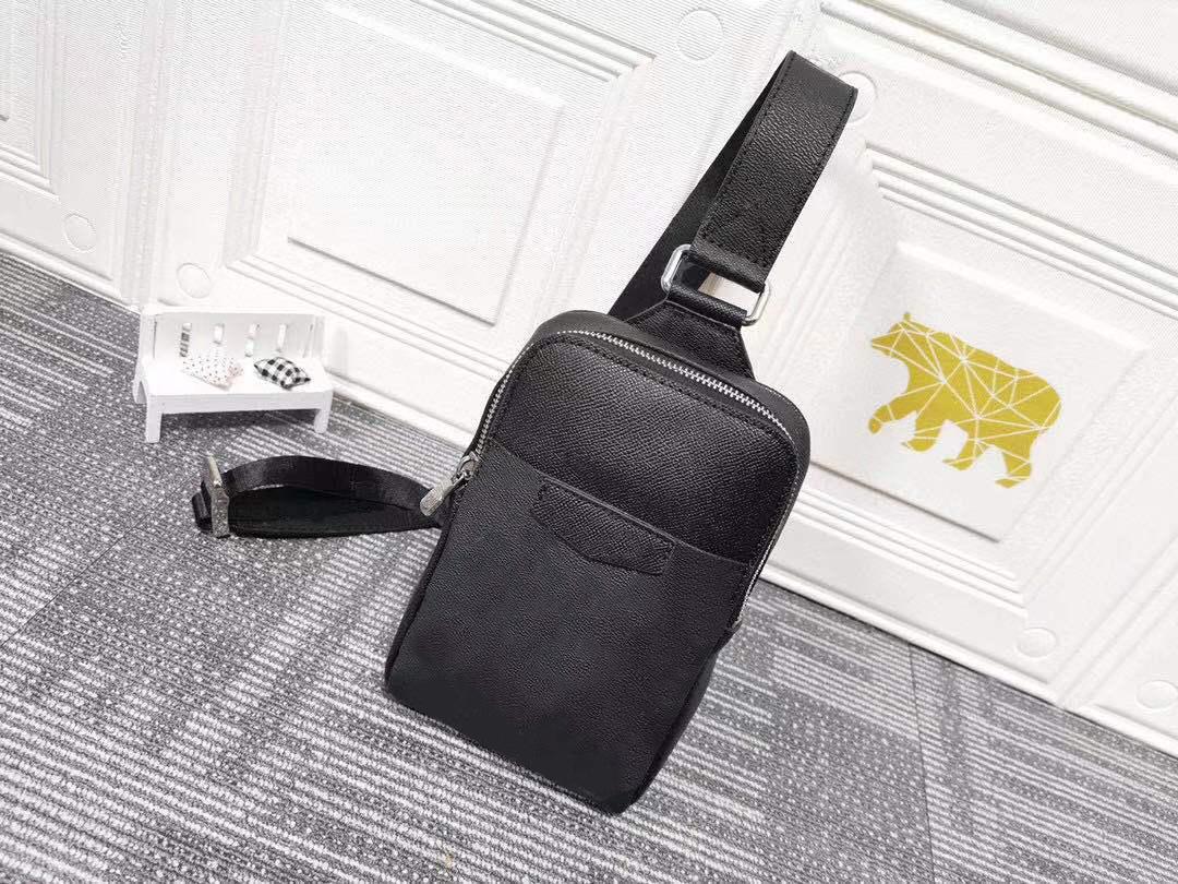 L LUXURYS Designer-Taschen Funktionelles Design einer Schultertasche Selbstkletterns Seilversiegelung für einen einfachen Zugang zu breiten Schultergurten Größe 13 21 5 cm