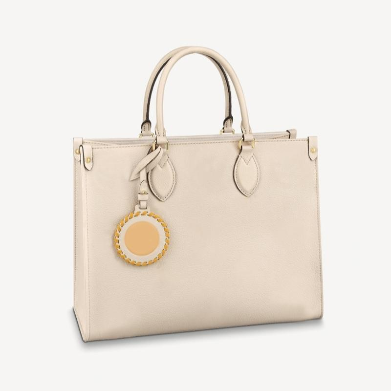 M45718 Onthego Handbags Gradient Color Flower Leather Totes woman Large Capacity shopping Bag Women Luxurys Designers Bags M45717