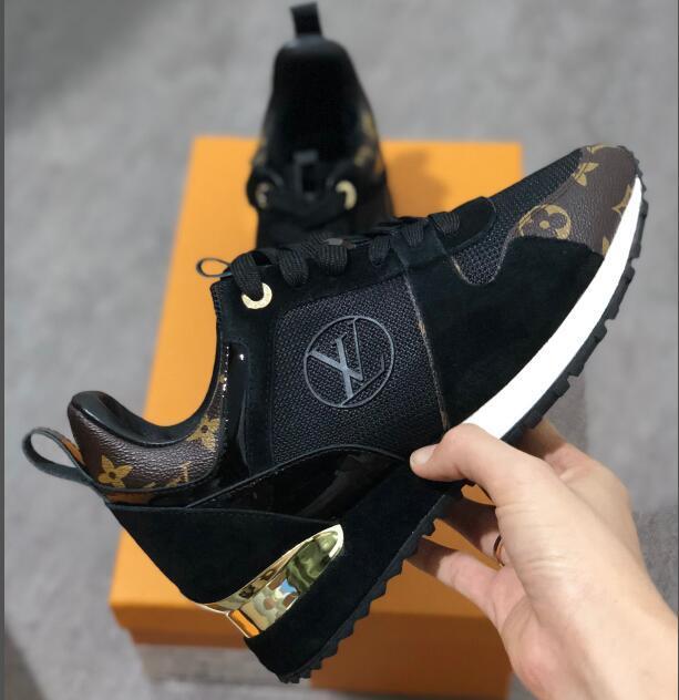 2021 Yeni Lüks Deri Rahat Ayakkabılar Kaçmak Kadın Tasarımcı Sneakers Erkekler Ayakkabı Hakiki Deri Moda Karışık Renk Orijinal Kutusu