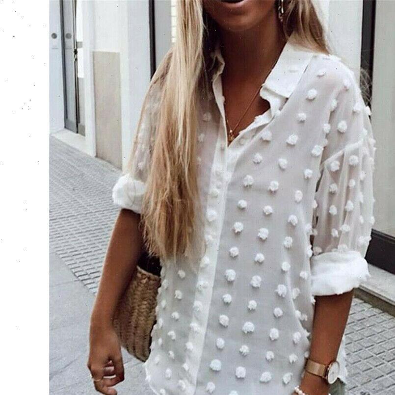 Sehen Sie durch Sheer Chiffon Frauen Hemden Square Kragen Langarm T-Shirt Tops Herbst Slim Blusen