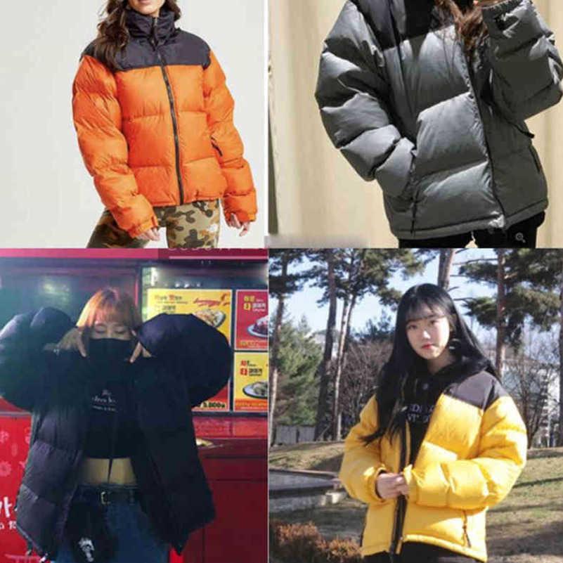 Hombre abajo Parkas Coats Womens Cotton Chaqueta de algodón abrigo de invierno Moda al aire libre Casual Casual Cálido Cálido Unisex Cremalleras Tops Protección contra el frío a prueba de viento