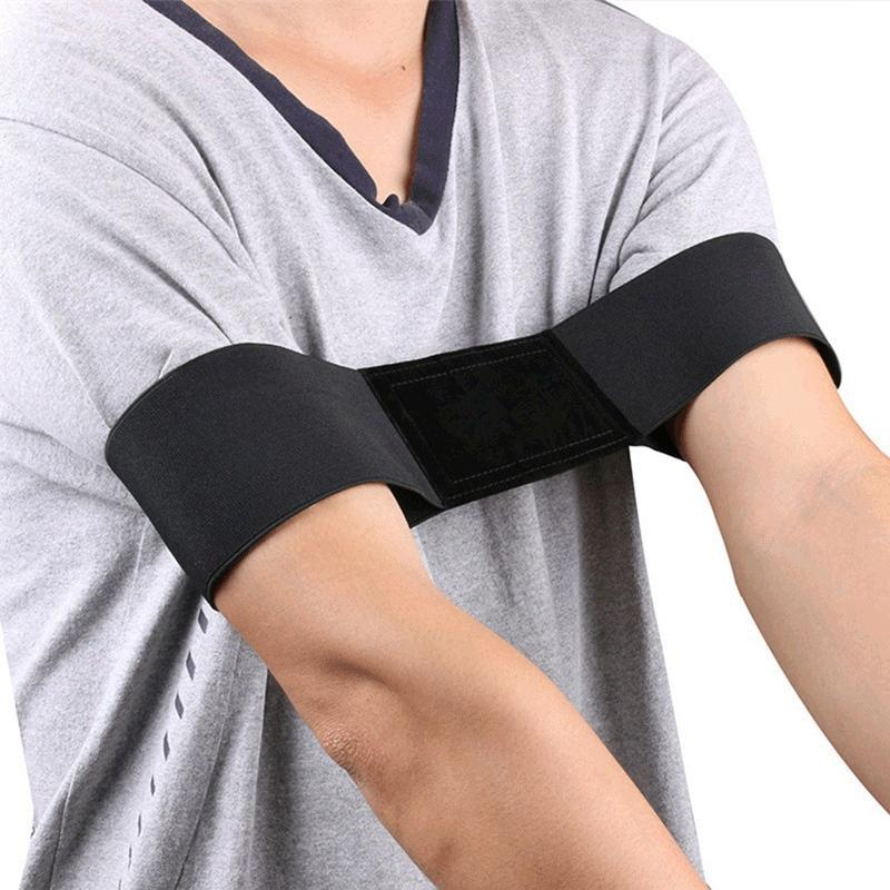 Golf Swing Training Aid Arm Band Posture Motion Correction Belt For Beginner Accessories Aids