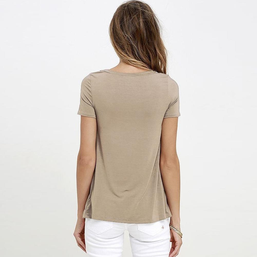 Camisetas camisetas camisetas para mujeres de manga corta sexy con cuello en V cuello vendaje camisas mujeres encaje arriba tops más tamaño verano