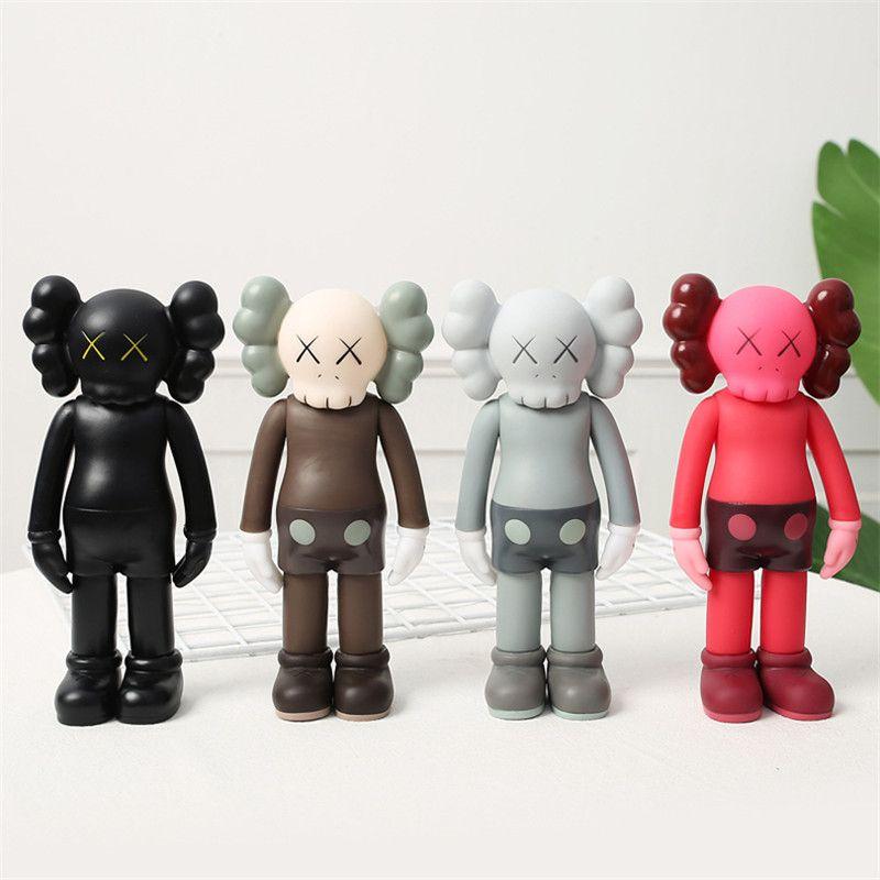 Лучшие продажи 8-дюймовые 20 см CommancialFake KAWS BFF Street Art PVC Action с оригинальной коробкой Kaws Куклы для ручной работы Украшения Рождественский подарок