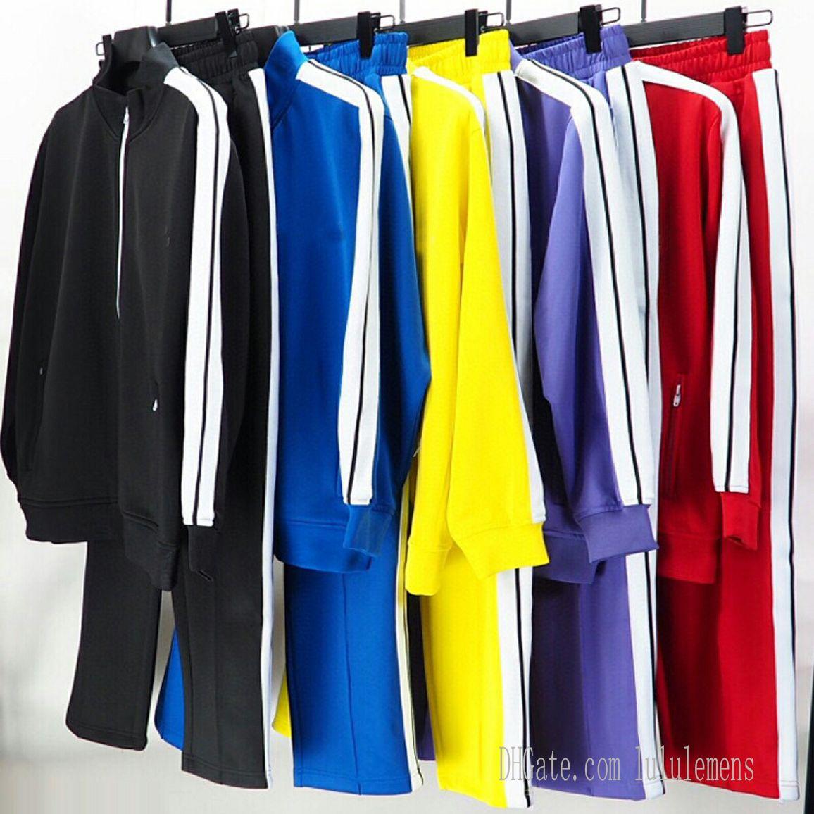[CODE:OCTEU03]Hommes Womens Tracksuits Sweatshirts Convient aux hommes Track Sweat Costume Manteaux Angels Angles Homme Designers Vestes Hoodies Pantalons Sportswear 21SS Palm 0101