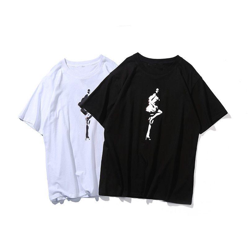 35The alta qualidade grande v t-shirt designers roupas de t-shirt polo moda curto manga lazer basquete jerseys homens s vestuário mulheres vestidos homens tracksuit