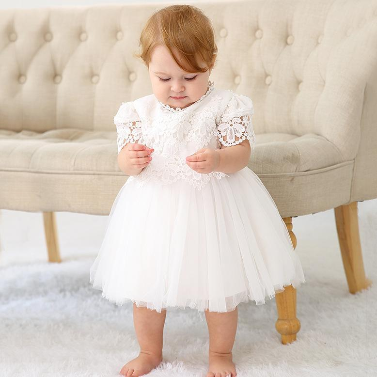 Tutu Princess Baby Girl Dress Summer Party Wedding Birthday Kid Lace For Child Ball Gowns Clothes Girl's Dresses