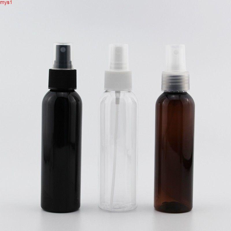 Wholesale 120 ml x 40 Agua negra aerosol de plástico vacío Botella de cosmética, 120cc Perfume Mist Mio pulverizador Bomba Contenedor Perfumes BottleHigh Cantidad