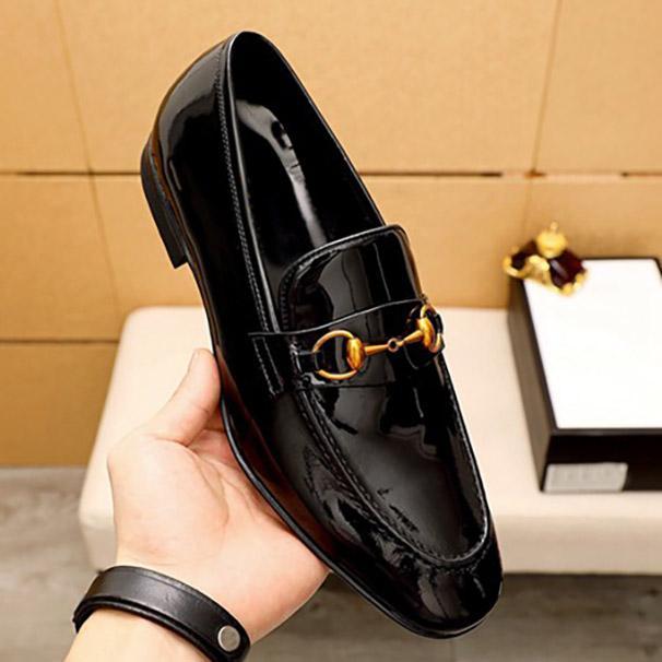 Men Classic Business Office Dress Обувь Красивая Натуральная Кожаная Очаровательная Мода и Стиль Досуга Итальянские Стили Коровьей