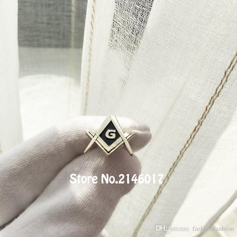 10pcs Freemason Brooch Metal Pin Masons Pins Lapel And Square Compass Master Badge G Masonic With Tmfmm