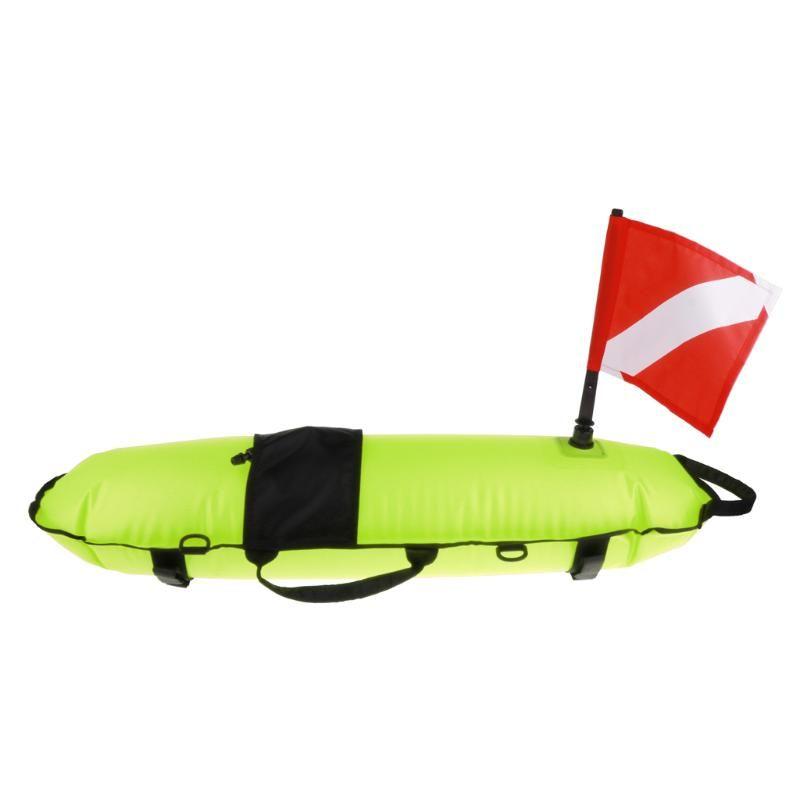 Accessoires de piscine Marqueur gonflable Drapeau de plongée Flag Signal de bouée Float Scuba Snorkeling