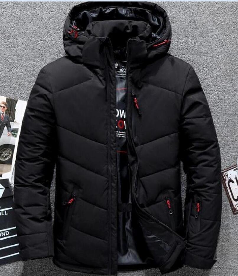New the Uomo Abbigliamento Giacche con cappuccio Inverno con cappuccio Tenere caldo cappotti Cappotti Uomo Facce Outdoor Addensare Giacche Outwear Goose Parkas