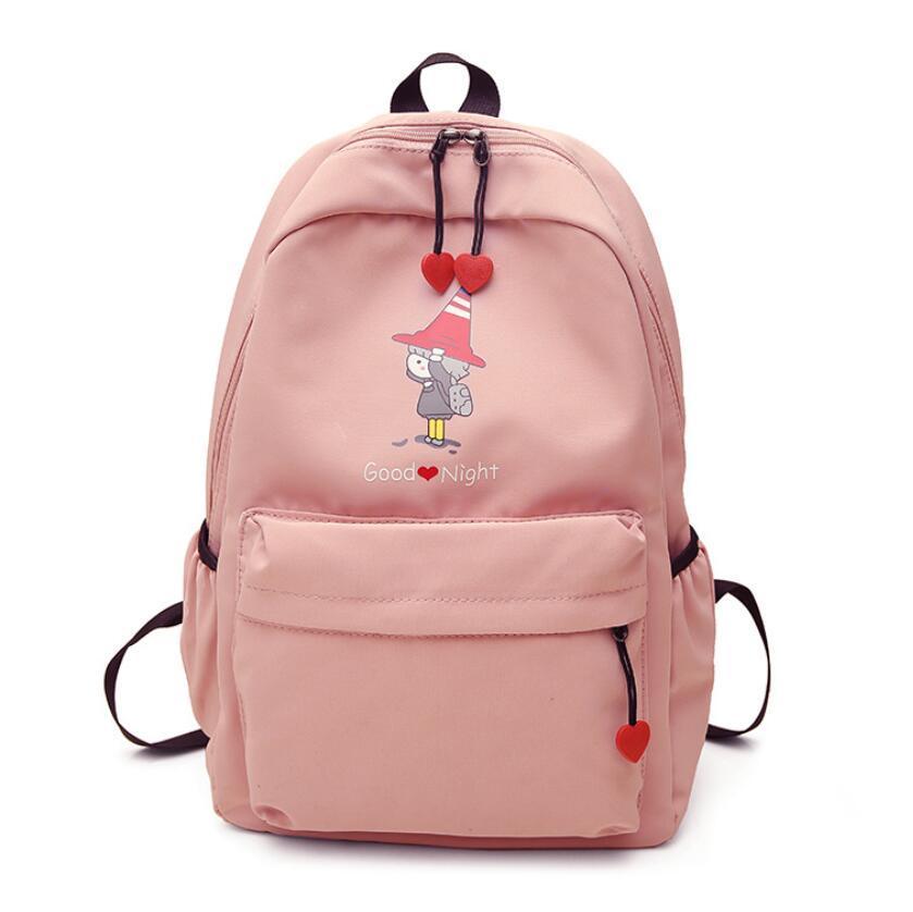 Backpack Female Korean Shchool Bags Campus Simple Fashion College Style Travel Bag High School