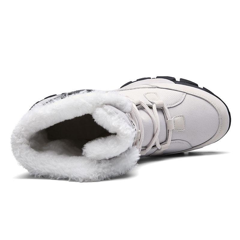 أعلى جودة النساء للماء مريحة الشتاء الأحذية الدافئة معزول الثلوج أحذية أحذية في الهواء الطلق النساء zapatos دي موهير