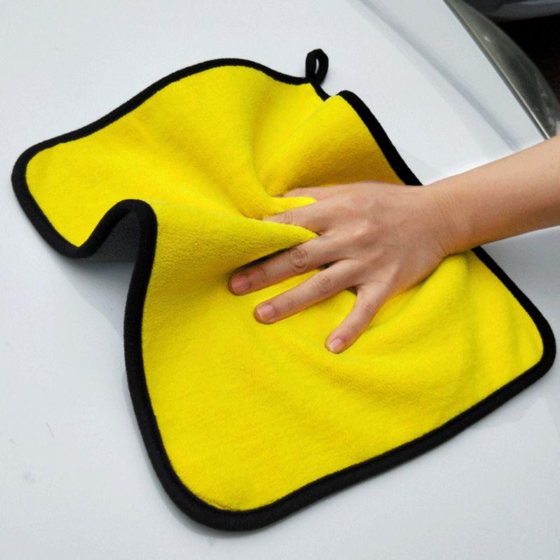 3PACK / 5PACK ultradicke Mikrofaserhandtücher 30 * 60 verdickte und saugfähige Mikrofaser-Reinigungstücher mit großer biluter Leistung Ideal für den Auto