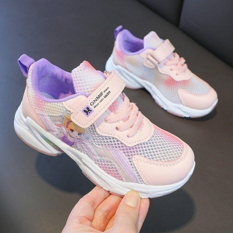 Девушки повседневные 2021 весна и осень новая детская обувь