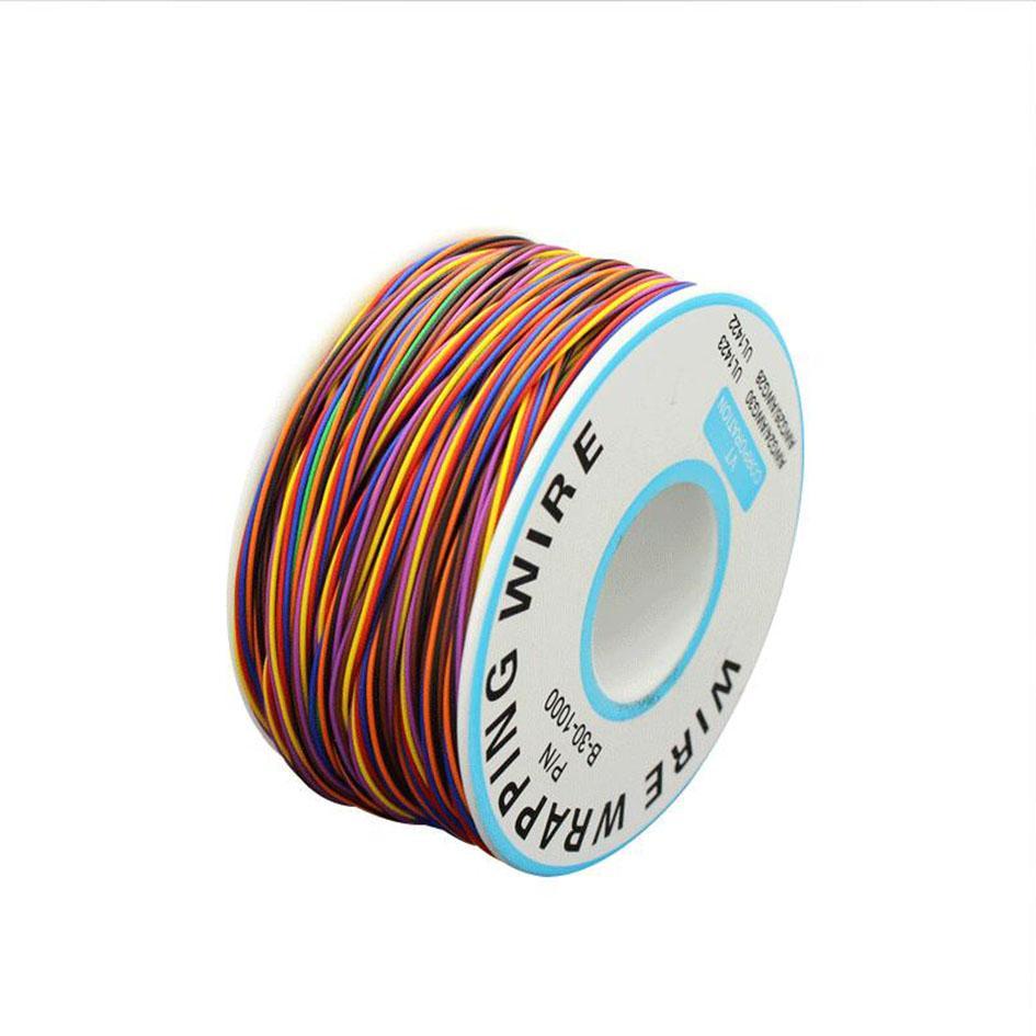 Línea de salto de la placa de circuito de 250 metros de 250 metros Línea de salto de cobre Mosca OK Wire Wire Wire 30 AGW al por mayor