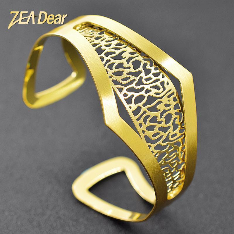 Dear Jewelry Bohemia High Quality Bangle Dubai Fashion Bracelet For Women Party Gift Geometric Findings