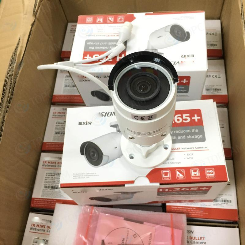 Cameras Hik-sion 4K High Resolution 3840 * 2160 Network 8MP IP Camera DS-2CD2085FWD-I 3D DNR Security Waterproof Cam