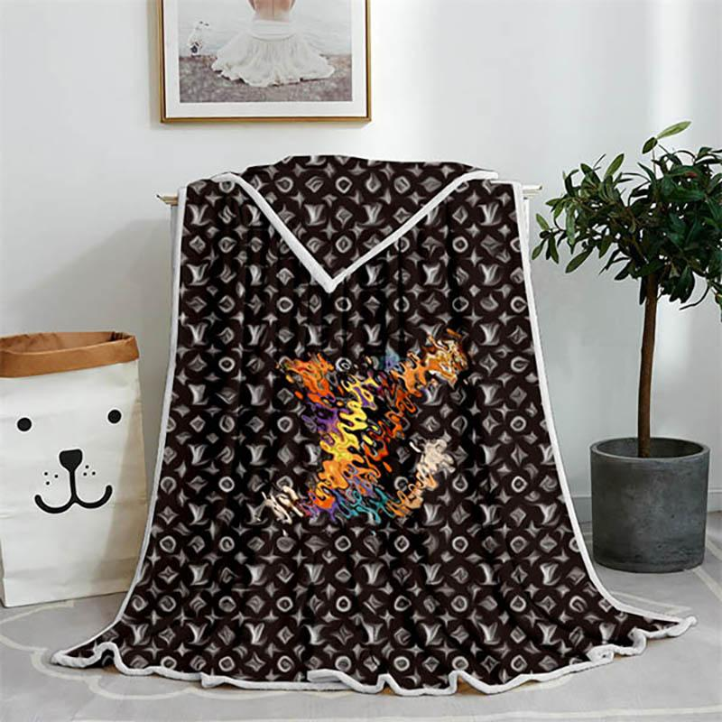 Various styles High Quality shawl Blanket Luxurys Designers Soft Touch Warm Sofa Bed Quilt Fall Winter Outdoor Blankets